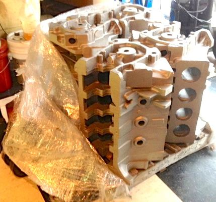 Four more aluminum Hemi blocks